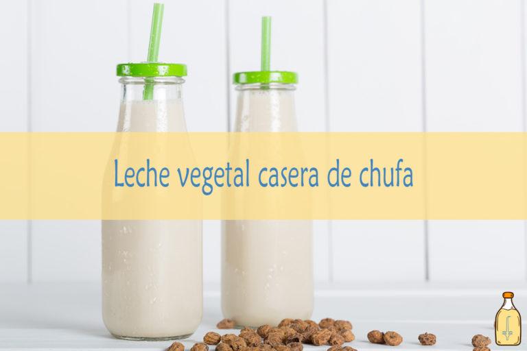 Leche vegetal de chufa / Horchata de chufa