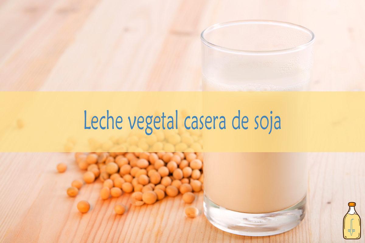 Leche vegetal de soja